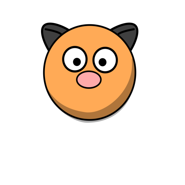 Cartoon Hamster Head PNG Clip art