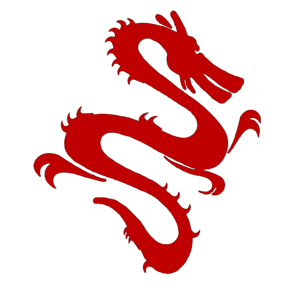 Red Dragon PNG Clip art