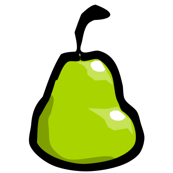 Cartoon Pear PNG Clip art