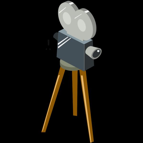Cartoon Movie Camera PNG Clip art