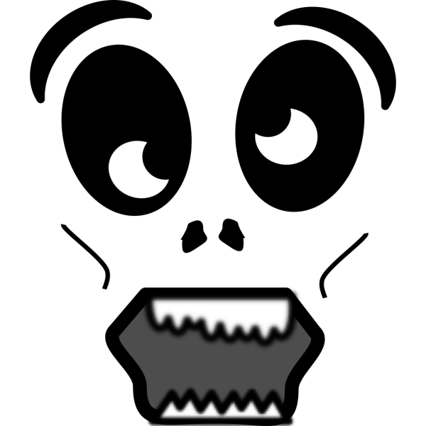 Cartoon Zombie Face PNG images