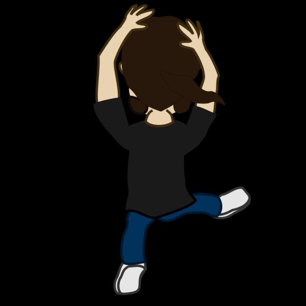 Comic Character Dancing PNG Clip art