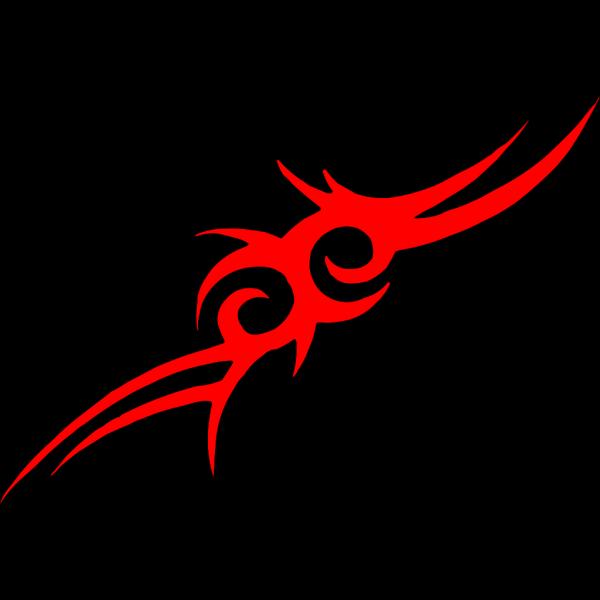 Tribal Art Horse Head PNG Clip art