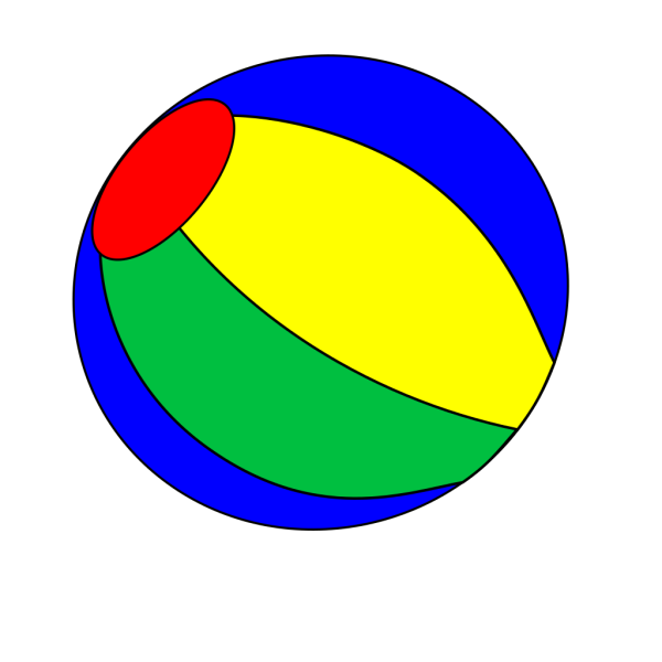 Beach Ball PNG Clip art