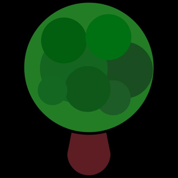 Comic Tree PNG Clip art