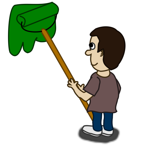 House Painter Comic Character PNG Clip art