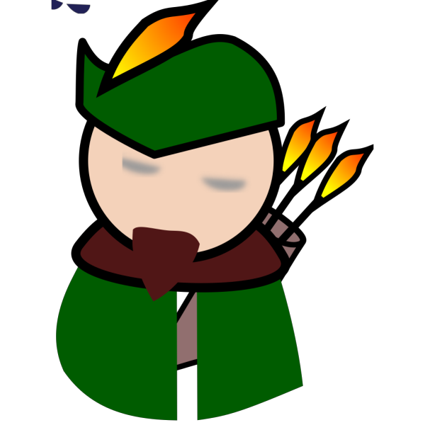 Robin Hood Avatar PNG images