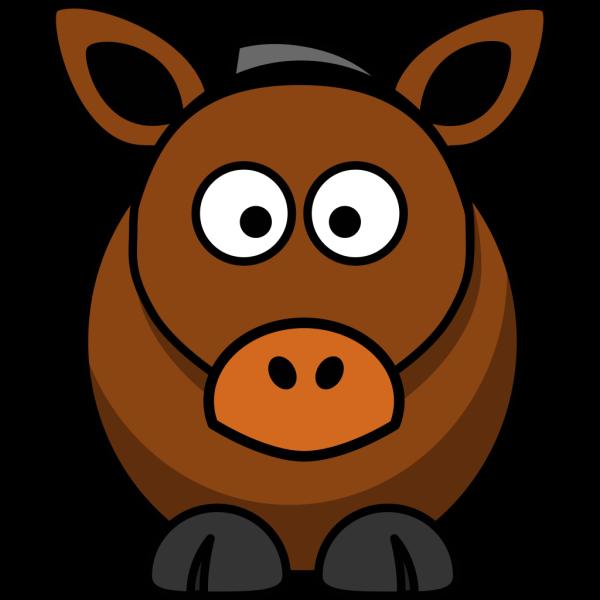 Cartoon Donkey PNG Clip art
