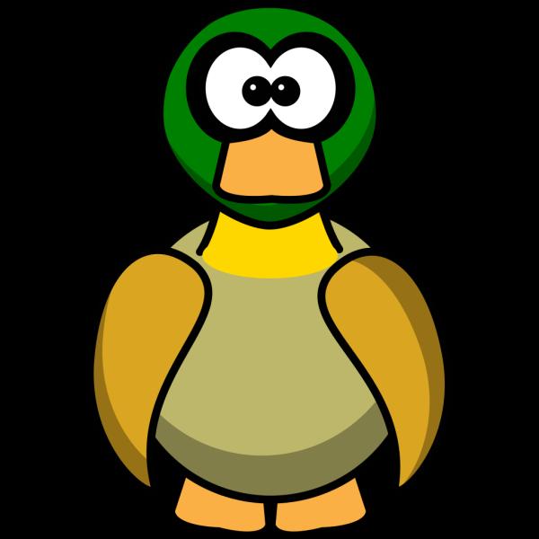 Duck Cartoon PNG Clip art
