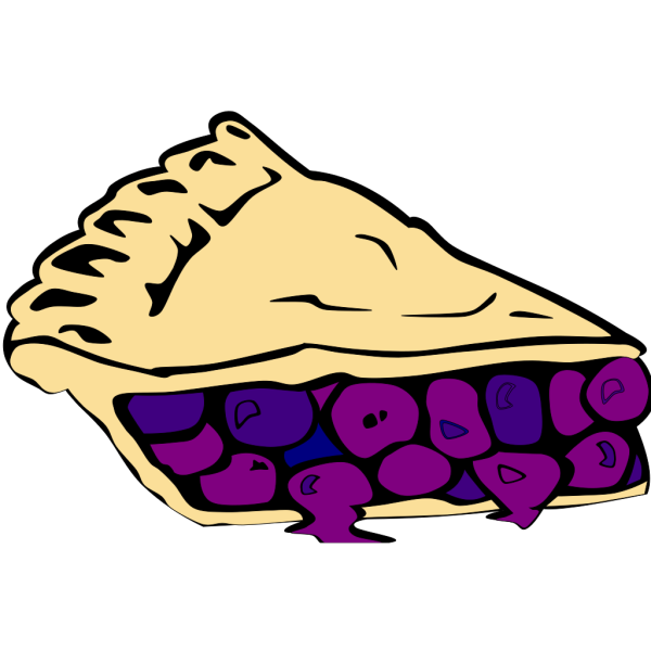 Blueberry Pie PNG Clip art