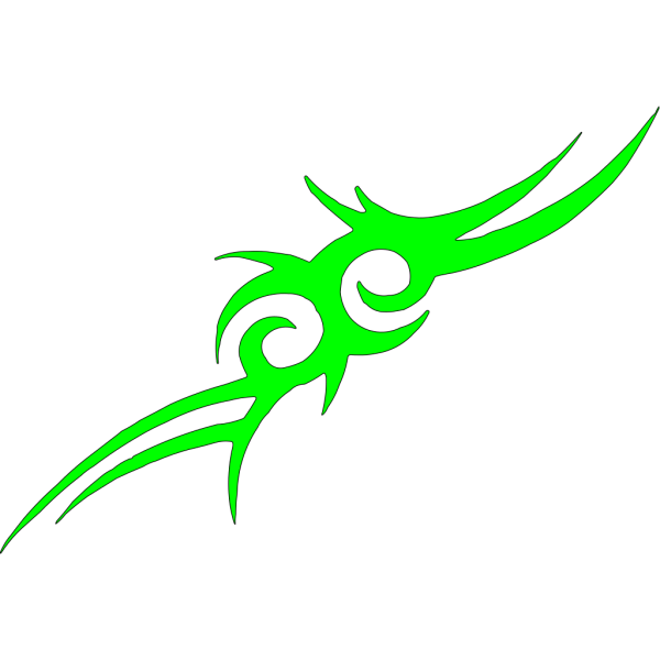 Spider Tribal Style PNG Clip art