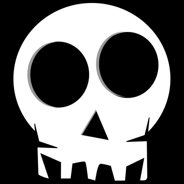 Cartoon Skull PNG Clip art