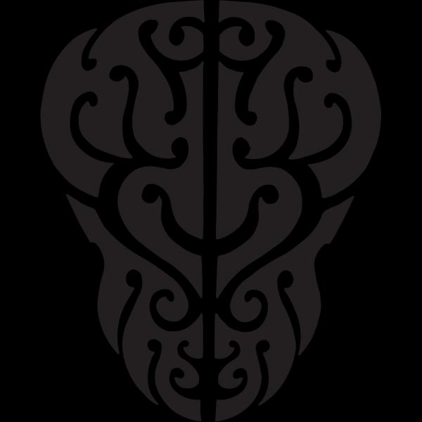 Tattoo Black Face PNG Clip art