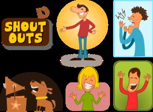 Shout Outs PNG Clip art