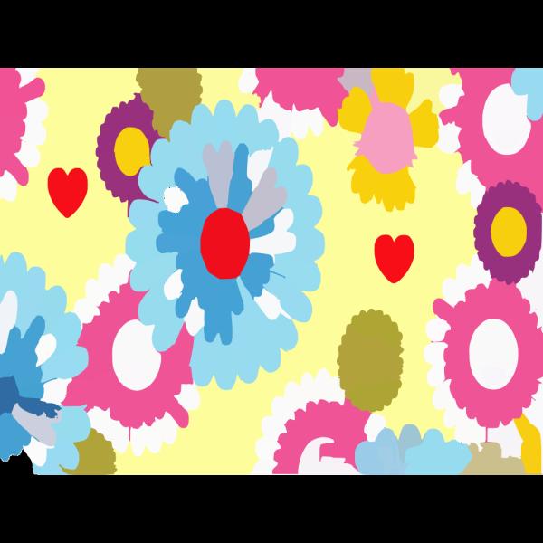 Cartoon Flowers Wallpaper Vyvxo PNG Clip art