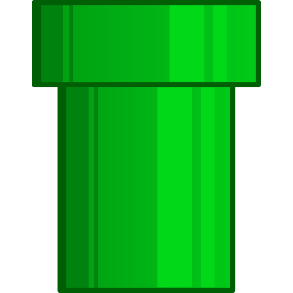 Green Cartoon Pipe PNG Clip art