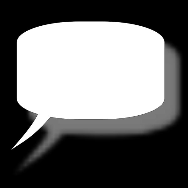Simple Speech Bubble PNG Clip art