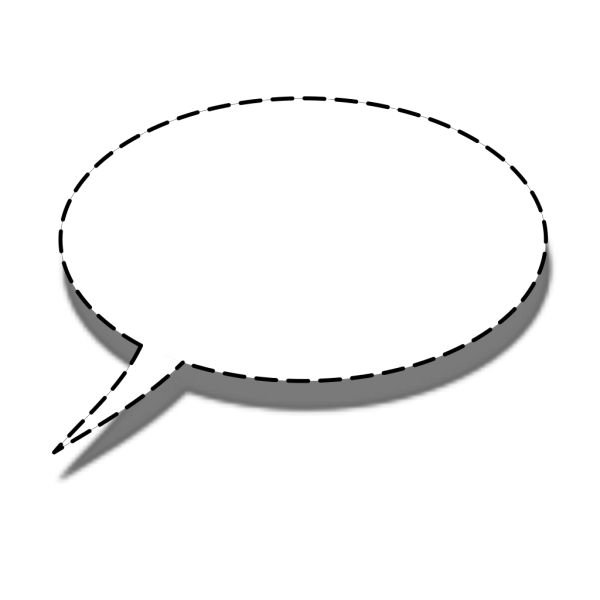 Whisper Speech Bubble PNG Clip art