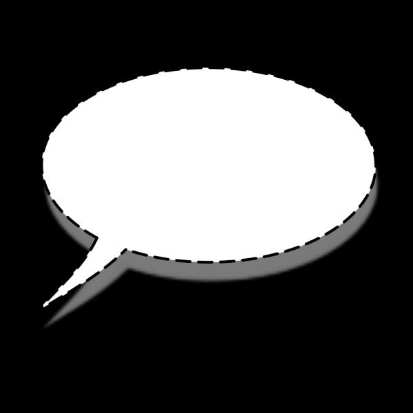Whisper Speech Bubble PNG Clip art