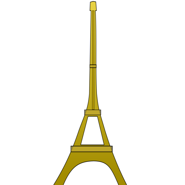 Hearts Eiffel Tower PNG Clip art