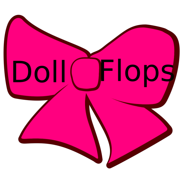 Hot Pink Bow PNG Clip art