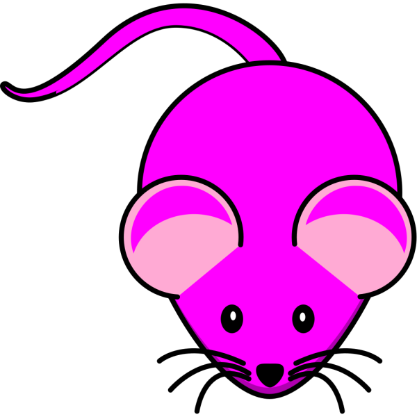 Pink Mouse PNG Clip art