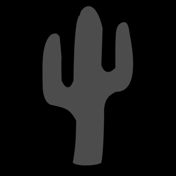 Gray Cactus PNG Clip art