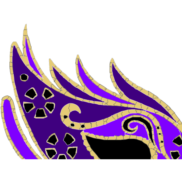 Purple Masquerade Mask PNG Clip art