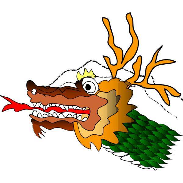 Cartoon Chinese Dragon PNG Clip art