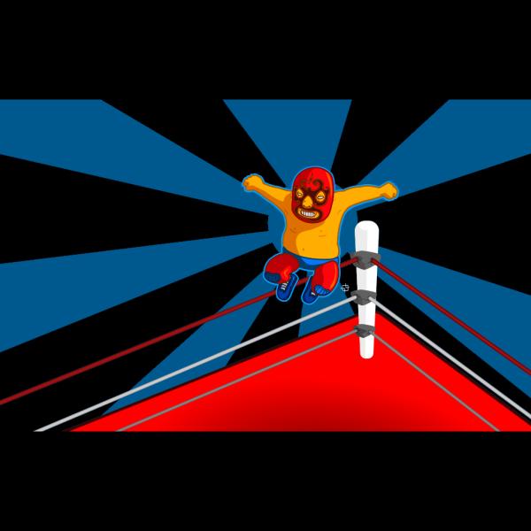 Luchador Wallpaper PNG Clip art