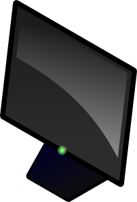 Blank Computer Screen PNG Clip art