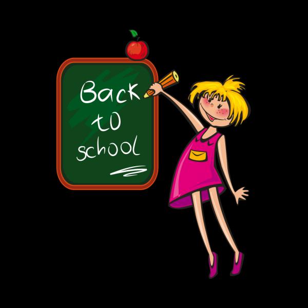 Schoolgirl PNG Clip art