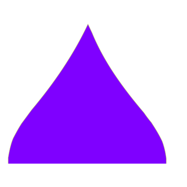 Purple Drop PNG Clip art