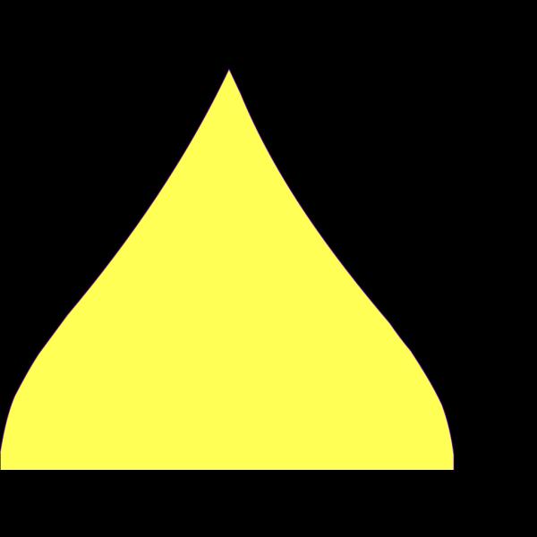 Yellow Drop PNG Clip art