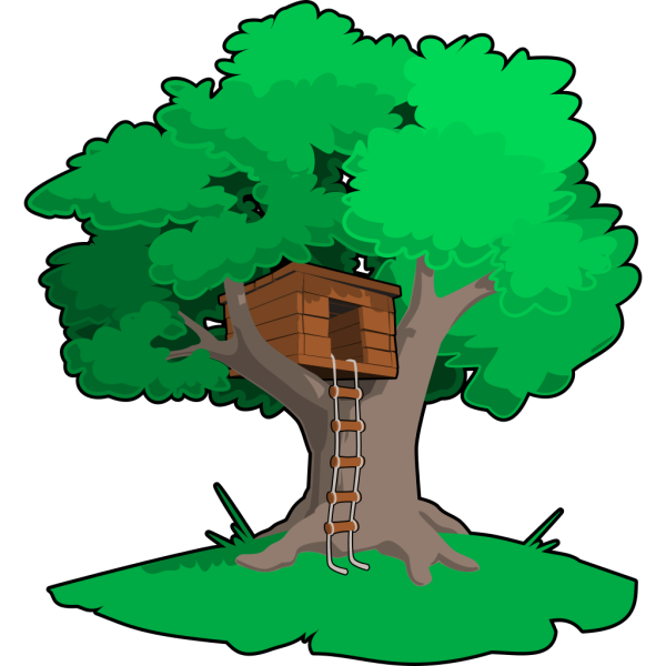 Tree House PNG Clip art