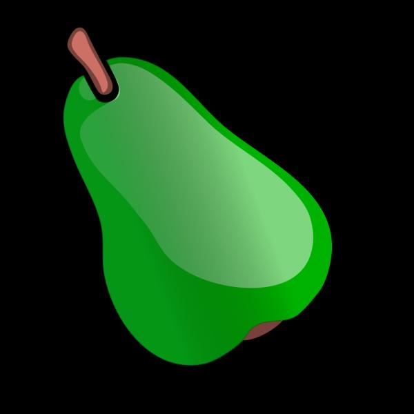 Green Pear PNG Clip art