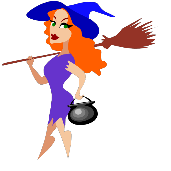 Sexy Witch PNG Clip art