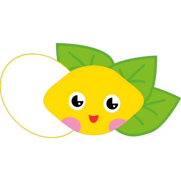 Lemon Cartoon Character PNG Clip art