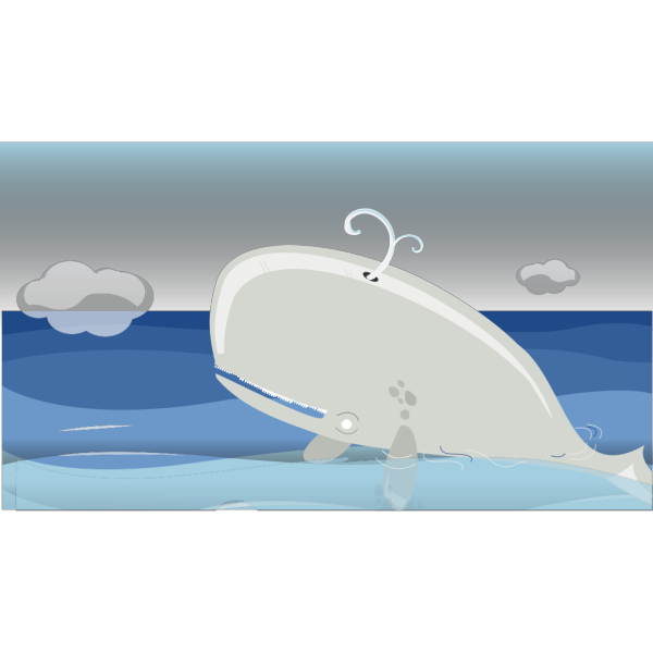 Moby Dick PNG Clip art