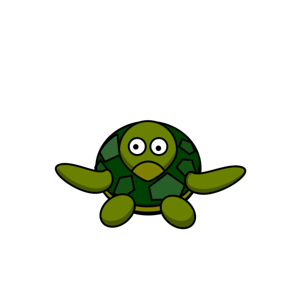 Cute Turtle PNG Clip art