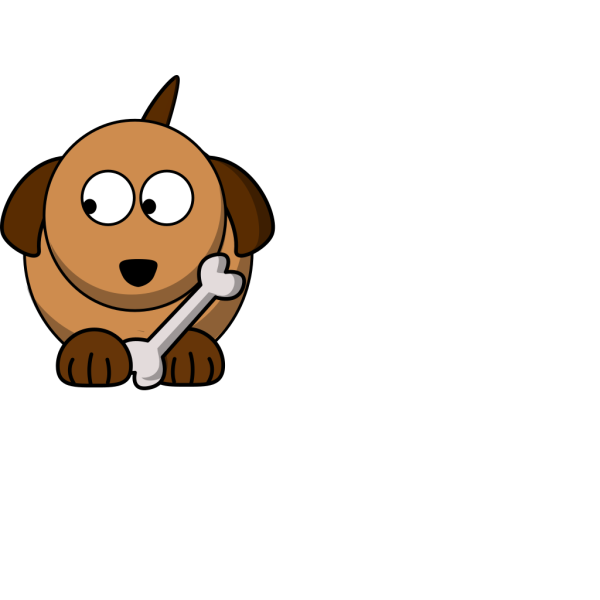 Dog Looking Left 02 PNG Clip art