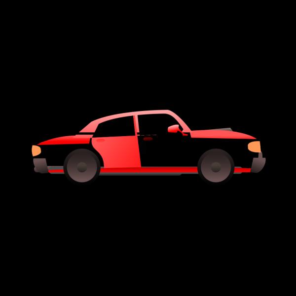 Car Red Cartoon Transport PNG Clip art