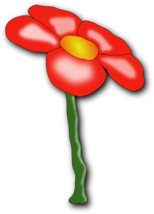 Red Flower PNG Clip art