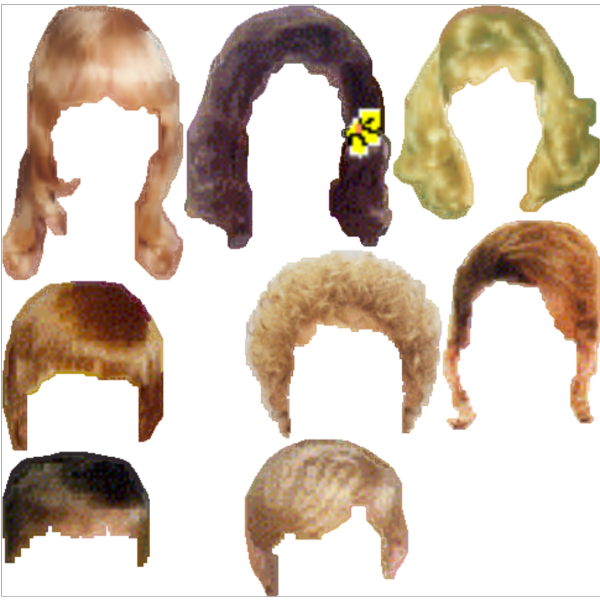 Hair Styles PNG images