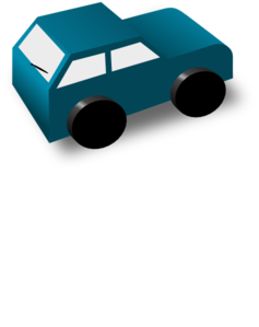 Green Toy Car PNG Clip art
