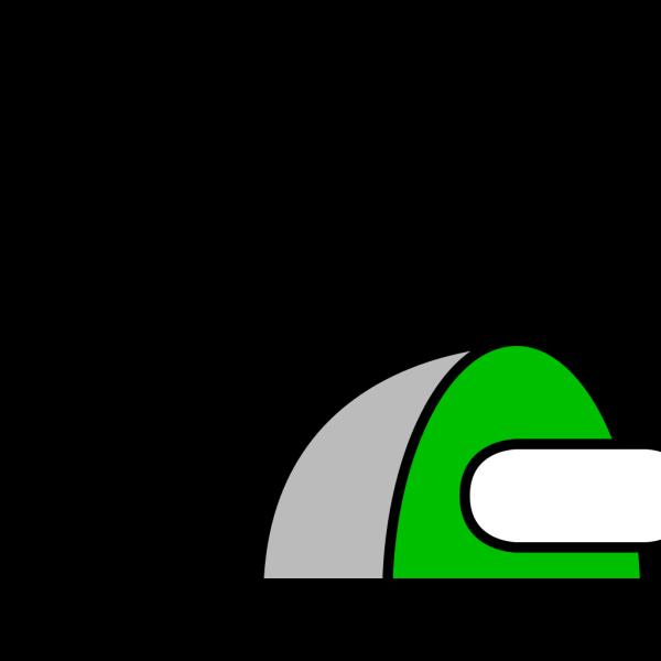 Plug 6 Green PNG Clip art