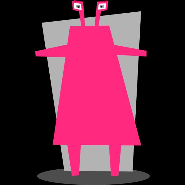 Pink Space Martian PNG Clip art
