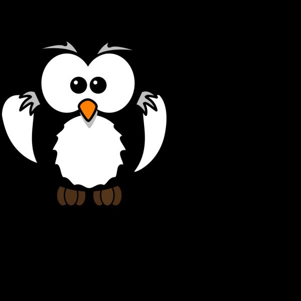 Black Owl PNG Clip art