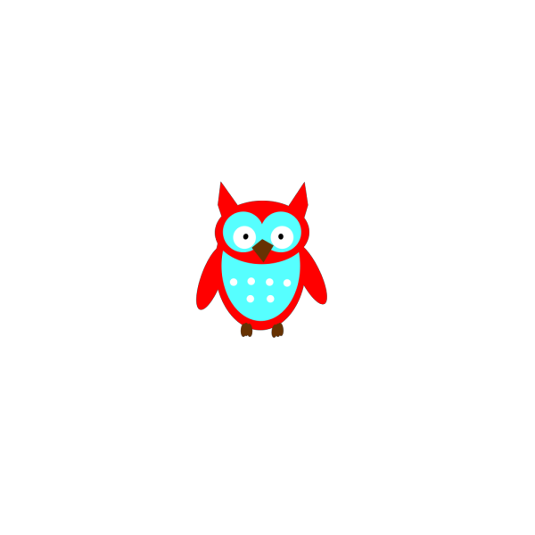 Red Owl PNG Clip art