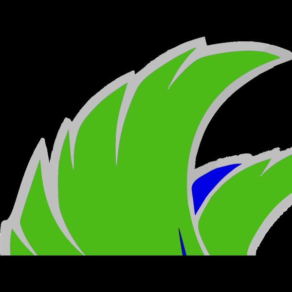 Green Falcon 1 PNG Clip art